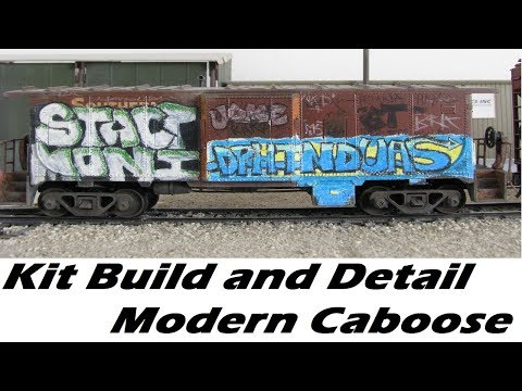 Super Detail an Athearn Kit: Building a Model Railroad