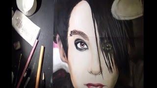 Drawing Bill Kaulitz