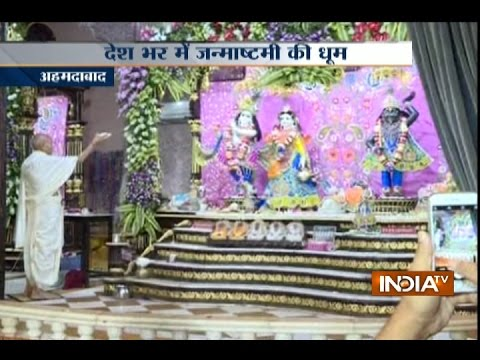 Country gears-up for Janmashtami celebrations