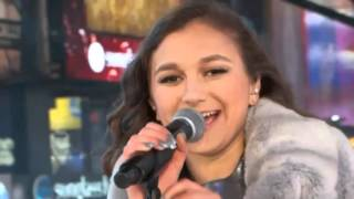 "Daya performs ""Hide Away"" New Years Eve 2016 Times Square"