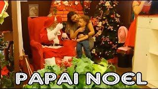 Minha Mãe virou criança e foi conhecer Papai Noel