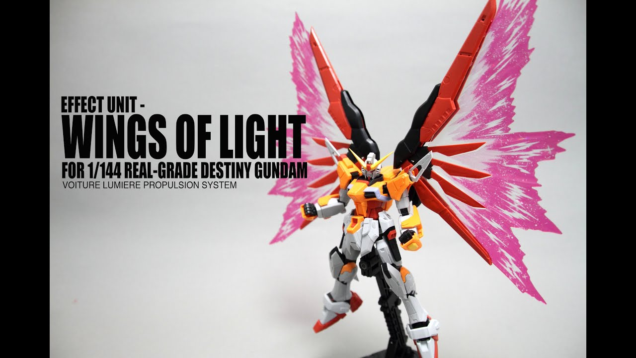 RG 1//144 Gundam for Expansion Effects Unit Light of Wings Green