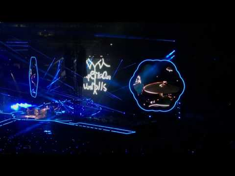 Something Just Like This - Coldplay - Gillette Stadium (8-4-17)