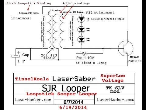 Joule Thief Tk Ls Sooperlooper Runs At Less Than 0 2 Volt