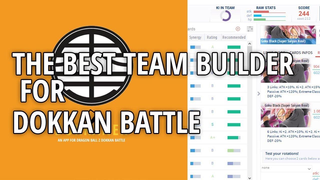 THE BEST TEAM BUILDER FOR DOKKAN BATTLE