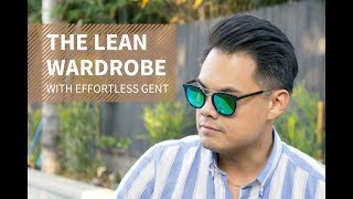 How to Build a Lean Wardrobe | Minimalist Men