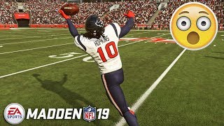 Madden 19 Gameplay - Crazy New WR & DB Catches!