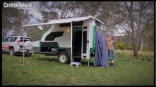 Camper Trailer Australia tests the Track Topaz Series 2 for the Off-Road Camper Trailer Awards 2013