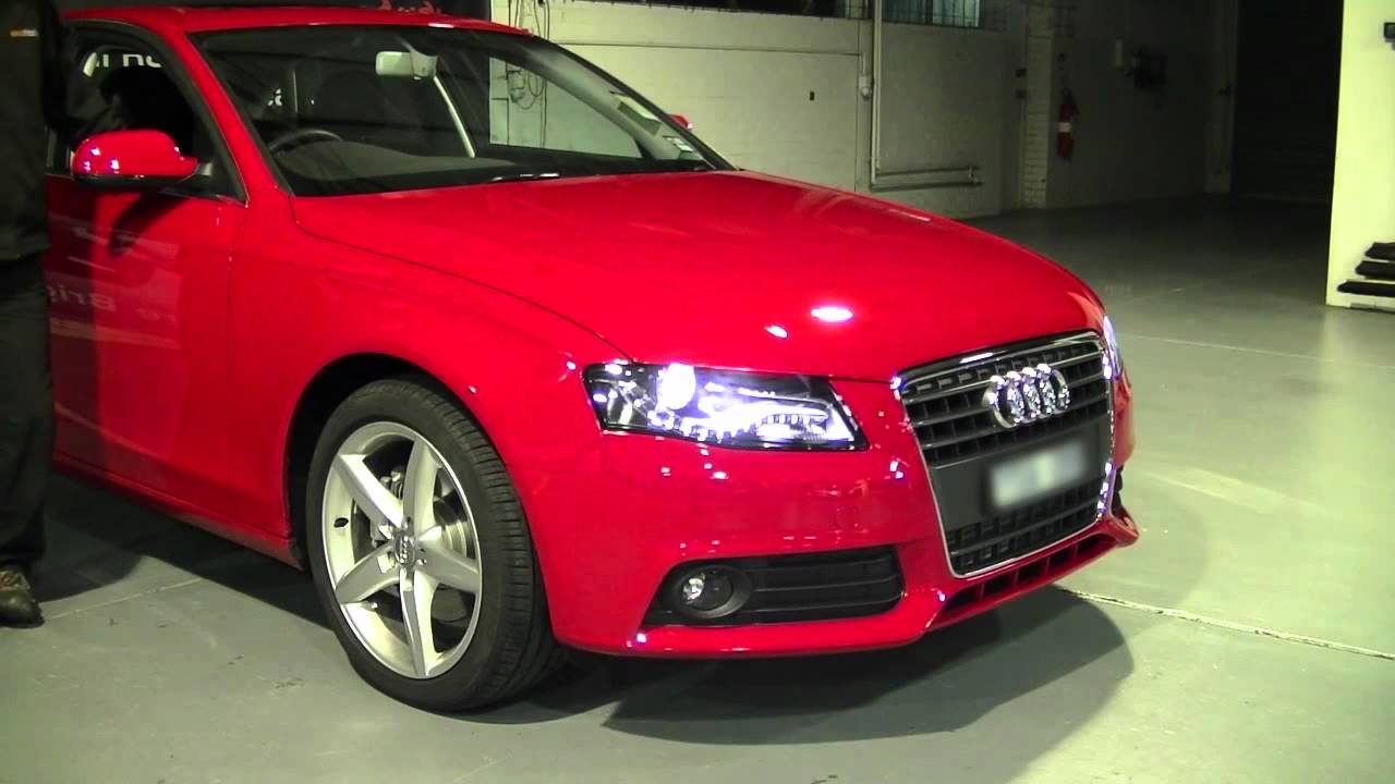 bi xenon retrofit for audi a4 b8 from autofidelity youtube. Black Bedroom Furniture Sets. Home Design Ideas