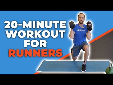 20-Minute Gym Workout for Runners | Whole Body!