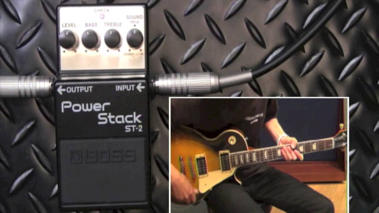 boss st 2 power stack boss compact pedal 100th anniversary youtube. Black Bedroom Furniture Sets. Home Design Ideas