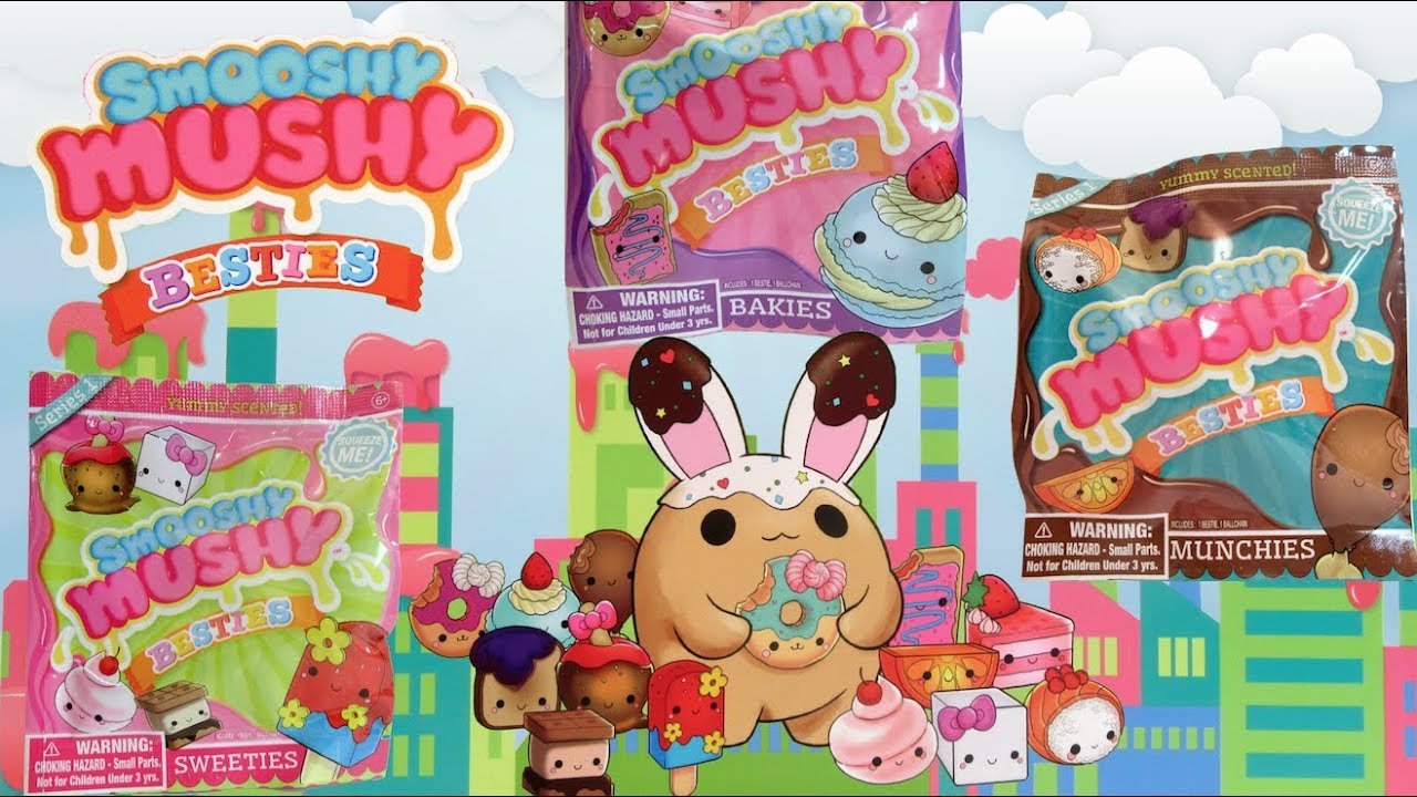 Smooshy Mushy Besties : Smooshy Mushy Besties Full Case Unboxing Will we find the Super Rare? - YouTube
