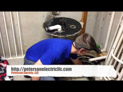 hook up sump pump to sewer