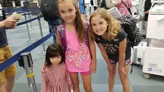 Surviving Long Haul Flight - Toronto To Tokyo   Japan With Kids