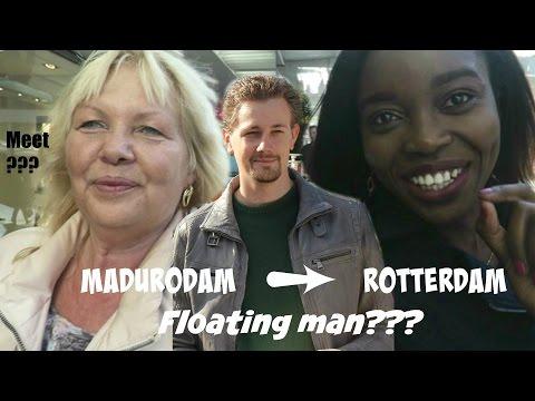Visit to Madurodam, Rotterdam with Moeder, Floating man Vlog #027