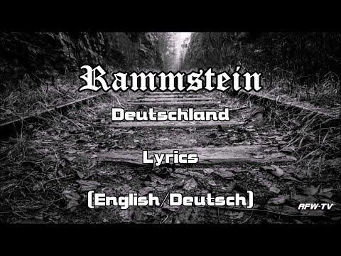 Rammstein - Deutschland (Lyrics[English/Deutsch])
