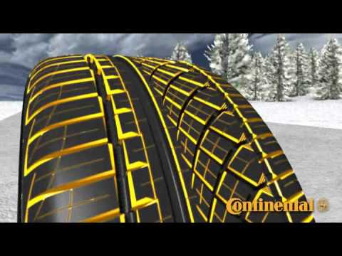 Continental Extreme Contact >> Continental ExtremeContact DWS tires with Snow Traction ...