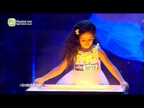 Arabs Got Talent - مرحلة تجارب الاداء - مصر- جينا تامر