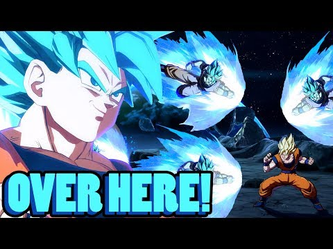 OVER HERE! | Dragonball FighterZ Ranked Matches