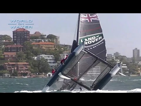 World on Water Dec 09 16 Sailing News TV. Crashes, Rescues, Innovation, Controversy and Witty