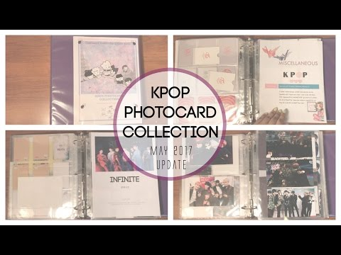 KPOP PHOTOCARD COLLECTION! | MAY 2017