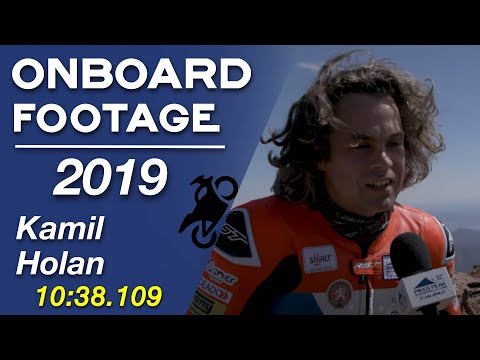 Kamil Holan   and Onboard  2019 Pikes Peak International Hill Climb