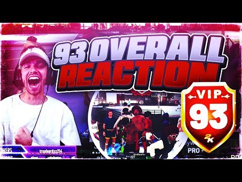 OMG I HIT 93 OVERALL! NEW VIP REWARD UNLOCKED! FASTEST WAY TO REP UP IN 2K19! 93 OVERALL POST SCORER