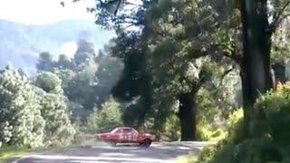 Despiste en Mil Cumbres La Carrera Panamericana 2014 (Video del CAMAC)