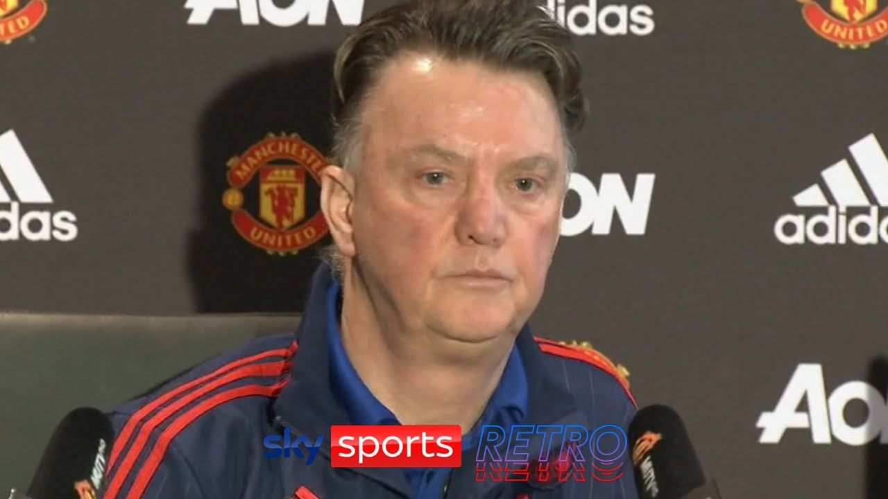 """It is only commercially thinking"" - Louis van Gaal on the European Super League & Champions League"