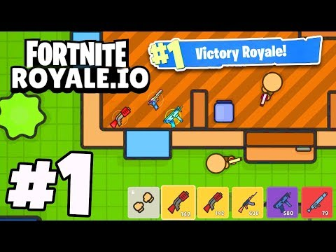 FORTNITE.IO - NEW .io Battle Royale Game! *MUST SEE*
