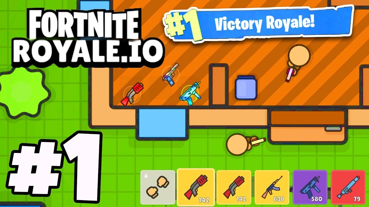 Fortnite Io New Io Battle Royale Game Must See Youtube
