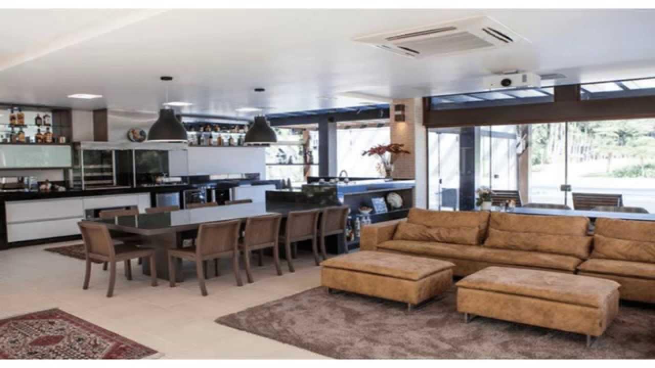 Sala De Jantar Gourmet ~ Espaço Gourmet  Decoração de Interiores  YouTube