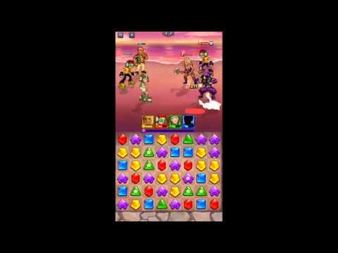 SEGA Heroes Match 3 RPG Quest | Android Gameplay | Puzzles & RPG Game