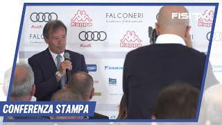 Conferenza Stampa Presentazione Stagione 2018/19