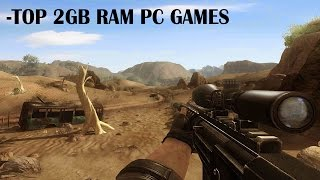 Top 2GB Ram PC Games