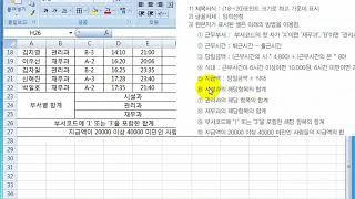 사무자동화산업기사 실기 기출문제 2019년 유형4 (두…