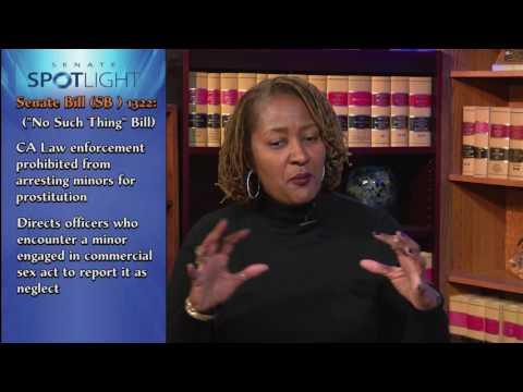 Senate Spotlight - Senator Holly Mitchell (episode 47)