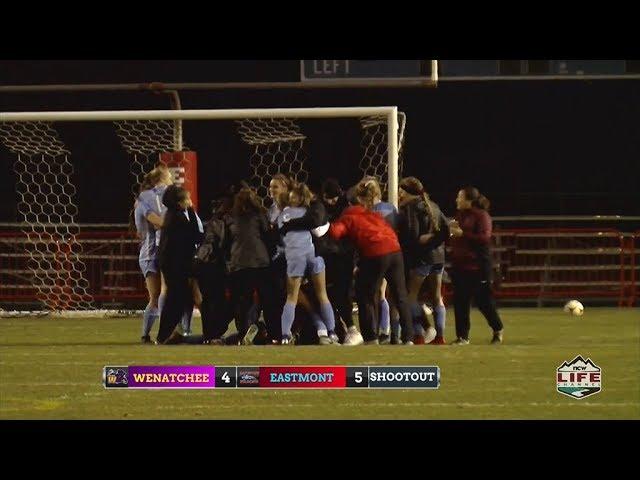 Eastmont vs Wenatchee Soccer Highlights 2019-11-06