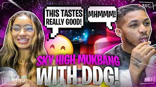 MUKBANG WITH DDG AFTER HITTING THE GAS WITH HIM FOR THE FIRST TIME!
