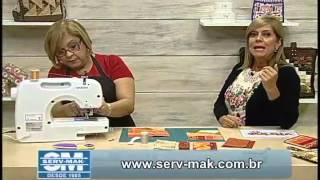 Carteira com Porta Celular com Ana Cosentino