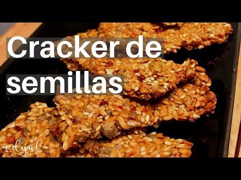 Crackers de semillas caseras