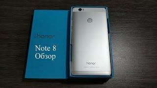 Полный обзор Huawei Honor Note 8
