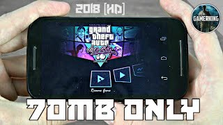 ||70MB|| GTA Vice City Lite Download On Android || Apk+Data || All GPU || Gameplay Proof