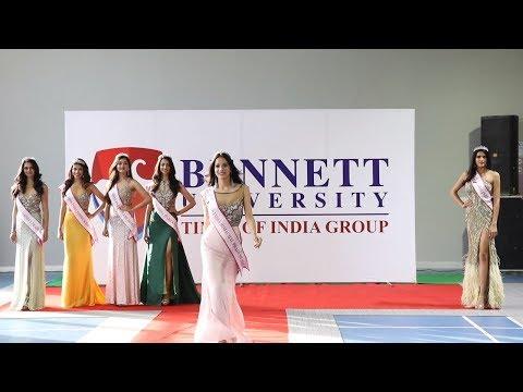 When Miss India North 2018 winners visited Bennett University