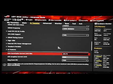 How to overclock 9900K / 9700K / 9600K – Quick Overclocking Tutorial Guide  – Asus Z390 Settings