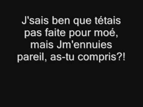 Les colocs-Juste une p'tite nuite+paroles(lyrics)