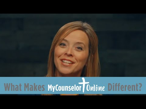 What makes MyCounselor.Online different?