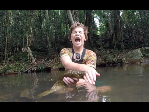 Fishing For River Monsters! HD from YouTube · Duration:  8 minutes 48 seconds