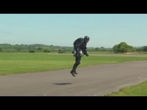 flying like iron man UK Inventor Richard Browning Makes Iron Man Su