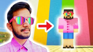 Finding diamonds with my EPIC Minecraft skin! | Minecraft Survival